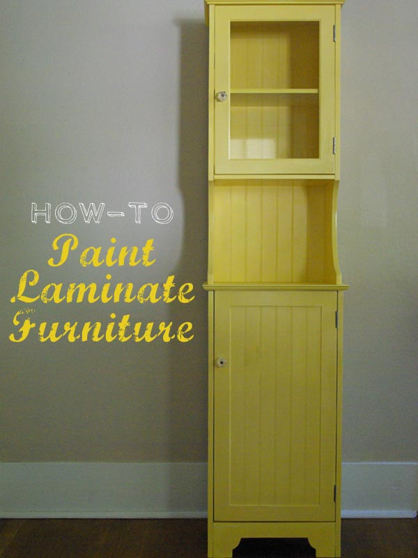 how to spray paint laminate furniturehow to spray paint laminate furniture  Osetacouleur